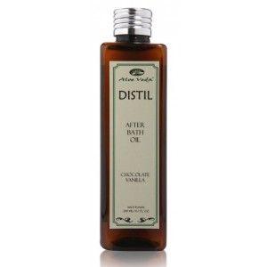 Buy Aloe Veda Distil  After Bath Oil - Chocolate Vanilla - Nykaa