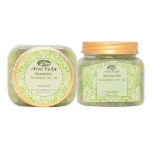 Buy Aloe Veda  Aromatherapy Bath Salt - Peppermint (detoxifying) - Nykaa