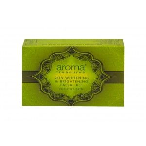 Buy Aroma Treasure Skin Whitening And Brightening Facial Kit For Oily Skin - Nykaa