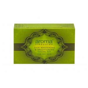 Buy Aroma Treasure Skin Whitening And Brightening Facial Kit For Dry Skin - Nykaa