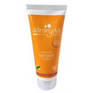 Buy Aaranyaa Rejuvenating Face Pack Turmeric  - Nykaa
