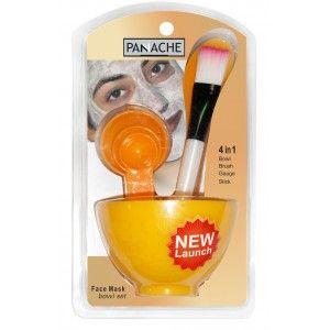 Buy Panache Face Mask bowl set (Color May Vary) - Nykaa