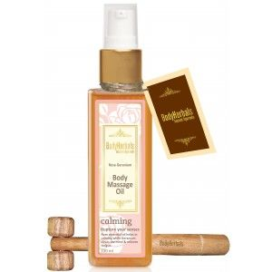 Buy BodyHerbals Natural Rose Geranium Body Massage Oil - Nykaa