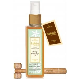 Buy BodyHerbals Natural Jasmine Vanilla Body Massag Oil - Nykaa