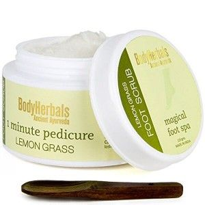 Buy BodyHerbals 1 Minute Pedicure, Lemongrass Foot Scrub - Nykaa