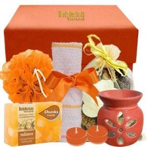 Buy BodyHerbals Orange Soap Spa Set  - Nykaa