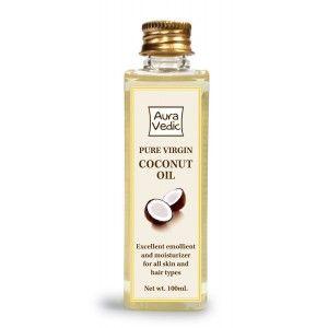 Buy Auravedic Pure Virgin Coconut Oil - Nykaa