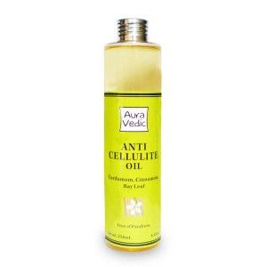 Buy Auravedic Anti Cellulite Oil - Nykaa