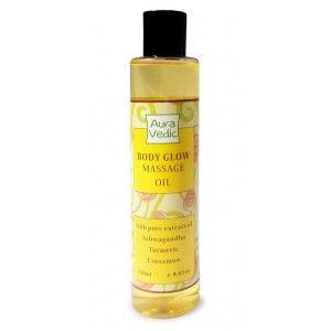 Buy Auravedic Body Glow Massage Oil - Nykaa