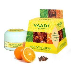 Buy Vaadi Herbals Anti-Acne Cream - Clove Neem & Orange Extract - Nykaa