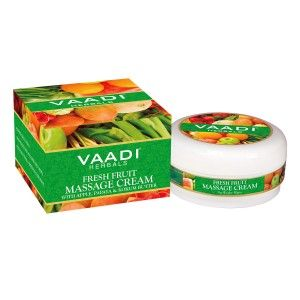 Buy Vaadi Herbals Fresh Fruit Massage Cream  - Nykaa
