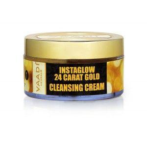 Buy Vaadi Herbals 24 Carat Gold Cleansing Cream - Marigold Oil - Nykaa
