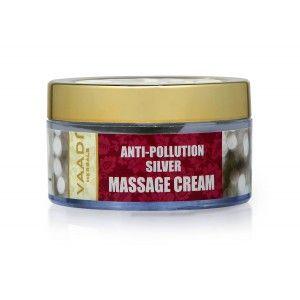Buy Vaadi Herbals Anti Pollution Silver Massage Cream - Nykaa