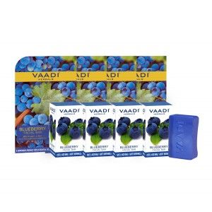 Buy Vaadi Herbals Value Pack Of 4 Blueberry Facial Bar - Nykaa