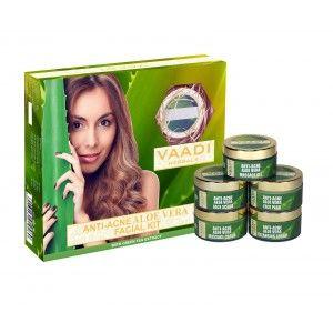 Buy Vaadi Herbals Anti-Acne Aloe Vera Facial Kit - Nykaa