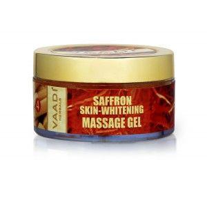 Buy Vaadi Herbals Saffron-Sandal Massage Gel With Multivitamin & Red Cedar Oil - Nykaa