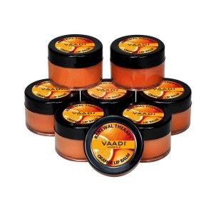Buy Vaadi Herbals Super Value Pack Of 8 Lip Balm - Orange & Shea Butter - Nykaa