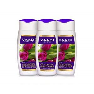 Buy Vaadi Herbals Value Pack Of  3 Tulip Oil Control Moisturiser With Green Almonds Extract - Nykaa