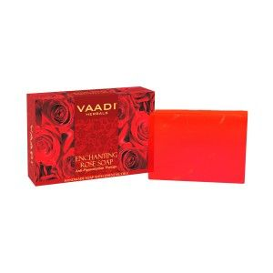 Buy Vaadi Herbals Enchanting Rose Soap With Mulberry Extract - Nykaa