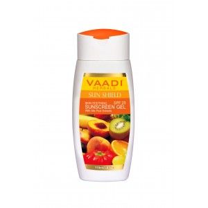 Buy Vaadi Herbals Sunscreen Gel With Mixfruit Extracts SPF 25 - Nykaa