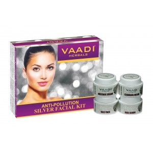 Buy Vaadi Herbals Silver Facial Kit - Nykaa