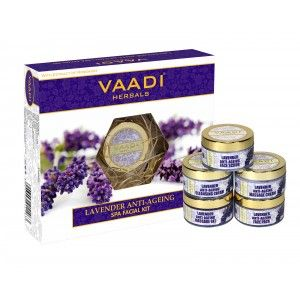 Buy Vaadi Herbals Lavender Anti -Ageing Spa Facial Kit - Nykaa