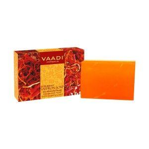 Buy Vaadi Herbals Luxurious Saffron Soap - Skin Whitening Therapy - Nykaa