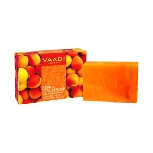 Buy Vaadi Herbals Perky Peach Soap With Essential Oil - Nykaa