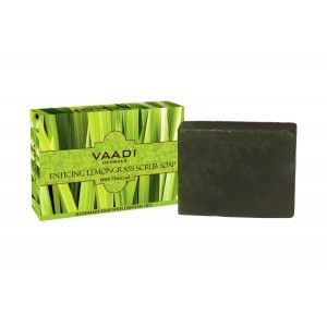 Buy Vaadi Herbals Enticing Lemongrass Scrub Soap - Nykaa