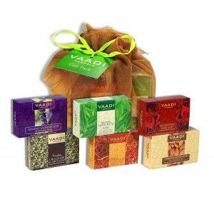 Buy Vaadi Herbals Assorted Soaps Gift Pack - Nykaa