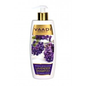 Buy Vaadi Herbals Lavender Shampoo With Rosemary Extract - Intensive Repair System  - Nykaa