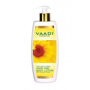Buy Vaadi Herbals Hand & Body Lotion With Sunflower Extract  - Nykaa
