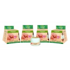 Buy Vaadi Herbals Value Pack Of 4 Foot Cream - Clove & Sandal Oil - Nykaa