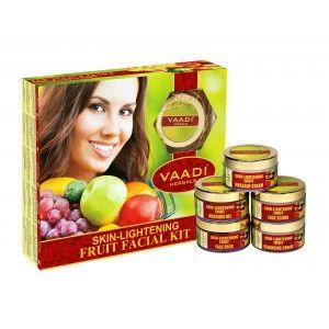 Buy Vaadi Herbal Skin - Lightening Fruit Facial Kit - Nykaa
