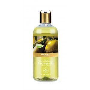 Buy Vaadi Herbals Breezy Olive & Green Apple Shower Gel - Nykaa