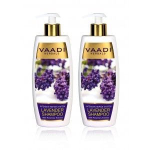 Buy Vaadi Herbals  Lavender Shampoo With Rosemary Extract (Pack Of 2) - Nykaa
