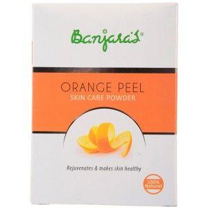 Buy Banjara's Orange Peel Skin Care Powder - Nykaa