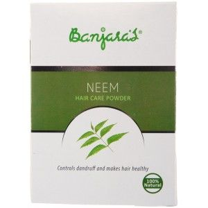 Buy Banjara's Neem Hair Care Powder (5 Sachets Inside) - Nykaa