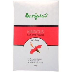 Buy Banjara's Hibiscus Hair Care Powder (5 Sachets Inside) - Nykaa