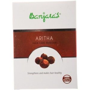 Buy Banjara's Aritha Hair Care Powder (5 Sachets Inside) - Nykaa