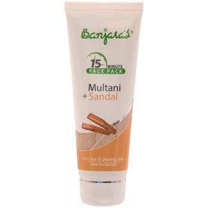 Buy Banjara's 15 Minute Multani + Sandal Face Pack - Nykaa