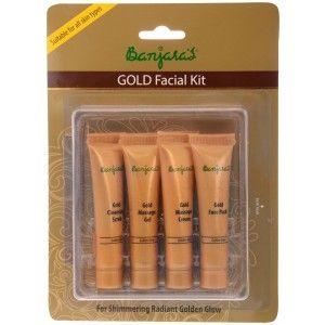 Buy Banjara's Gold Facial Kit (4 Tubes Inside) - Nykaa