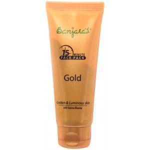 Buy Banjara's 15 Minute Gold Face Pack (Tube) - Nykaa