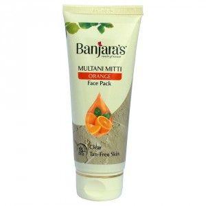 Buy Banjara's Multani Mitti Orange Face Pack - Nykaa