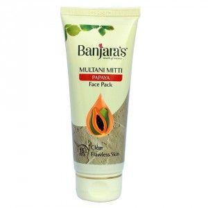 Buy Banjara's Multani Mitti Papaya Face Pack - Nykaa