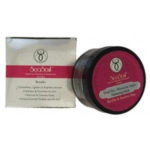 Buy SeaSoul Dead Sea Moroccan Argan Hydrating Mask For Dry & Sensitive Skin - Nykaa