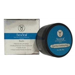 Buy SeaSoul Dead Sea Clarifying Mask - For Oily Skin - Nykaa