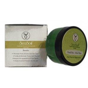 Buy SeaSoul Dead Sea-Aloe Vera Anti Pores & Pigmentation Mask - Nykaa