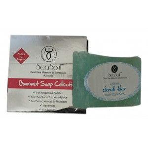 Buy SeaSoul Loofah Scrub Bar - Nykaa