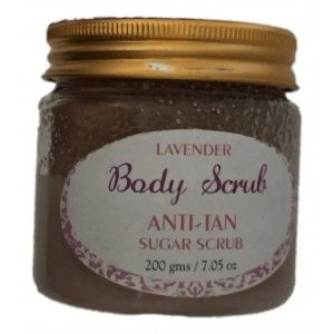 Buy SeaSoul Lavender Sugar Body Scrub Anti-Tan - Nykaa